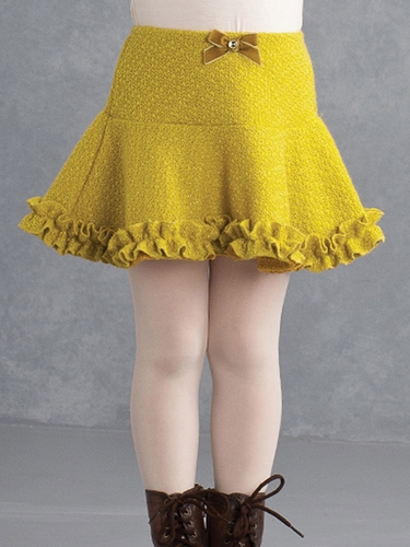 Kate Mack Mustard Skirt