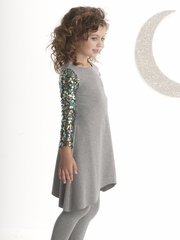 "Kate Mack ""Strike A Pose"" Sequin Sleeve Dress"