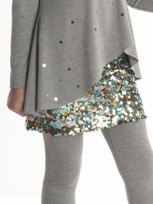 "Kate Mack ""Strike A Pose"" Sequined Skirt"