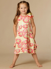KidCuteTure Mary Coral Dress