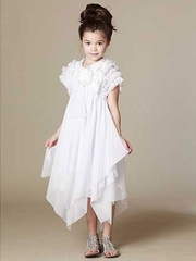 KidCuteTure White Ariana Dress