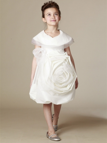 KidCuteTure White Sonya Dress