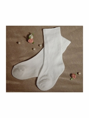 Knee Length Christening Sock