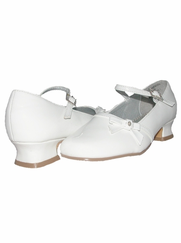 Laura Ashley White Toddler/Youth Girls Shoes