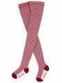 Le Top Baby Everyday Essentials Red & White Stripe Tights