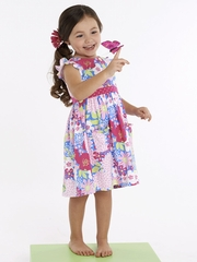 Le Top Lexi's Garden Periwinkle Dress