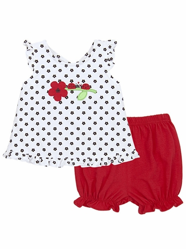 Le Top Love Bug Little Flower Popover & Bloomer