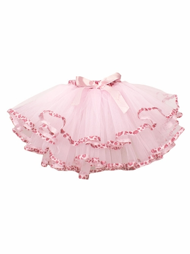 Light Pink Leopard Tutu