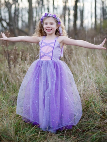 Lilac Rapunzel Dress