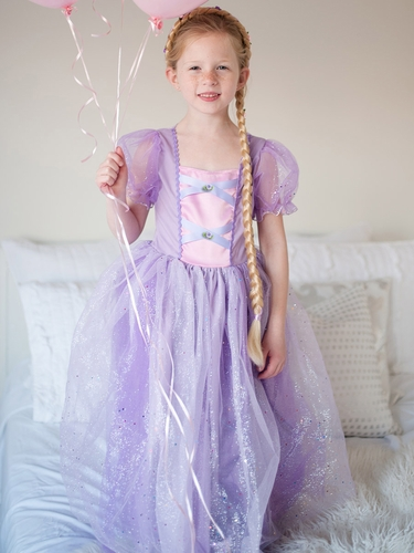 Lilac Rapunzel Dress w/ Sleeves