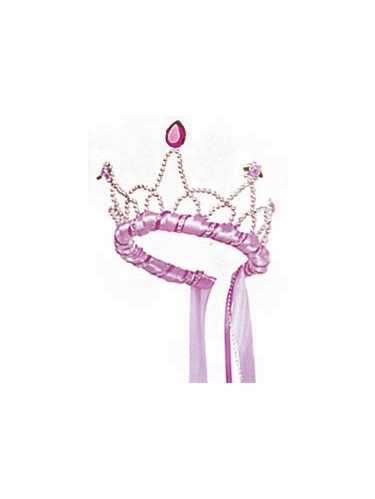 Lilac Ribbon Princess Playtime Tiara