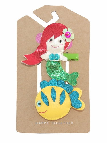 Lily & Momo Mermaid & Fishie Hair Clip