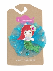 Lily & Momo Tulle Mermaid Hair Clip