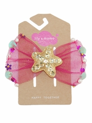 Lily & Momo Tulle Starfish Hair Clip