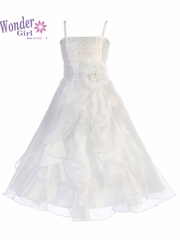 Lily Organza White Dress