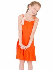 Limeapple Here Comes the Sun Selena Ruffle Dress