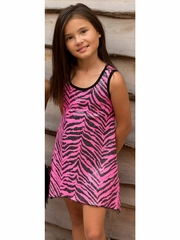 Lipstik Girls Sequin Mesh Dress