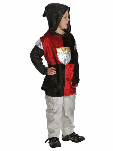 Little Adventures Boys Black Knight Costume