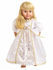 Little Adventures Bride Doll Dress