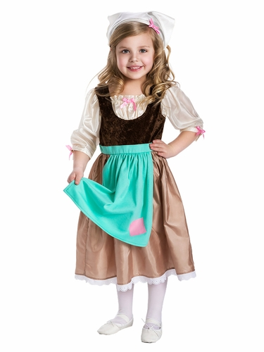 Little Adventures Cinderella Day Dress w/ Scarf