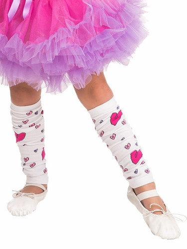 Little Adventures Heart Leg Warmers
