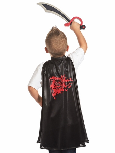 Little Adventures Pirate Cape & Sword Set