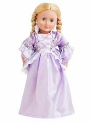 Little Adventures Royal Rapunzel Doll Dress