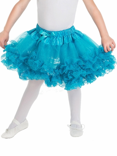 Little Adventures Teal Fluffy Lace Tutu