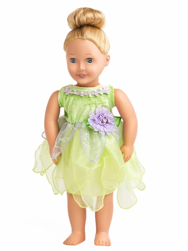 Little Adventures Tinker Bell Doll Dress