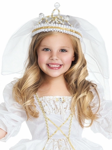 Little Adventures Wedding Veil Crown