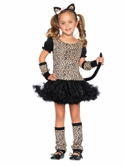 Little Leopard Cat Tutu Child Costume for Girls