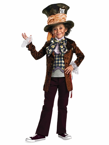 Mad Hatter Movie Deluxe Costume