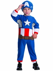 Marval Captain America Toddler Costume