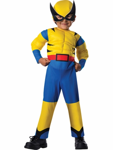 Marvel Deluxe Wolverine Toddler Costume