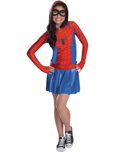 Marvel Spider Girl Hoodie Dress