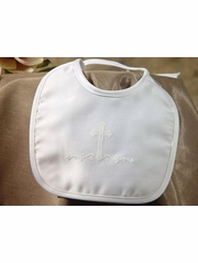 Matte Satin Large Cross Bib