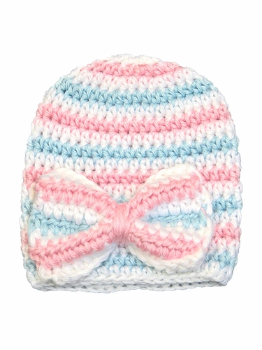 Melondipity Crochet Newborn Hospital Baby Hat