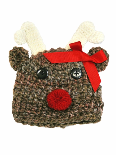 Melondipity Rudolph Baby Reindeer Hat