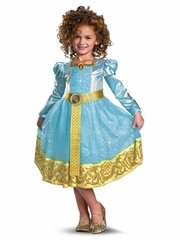 Merida Deluxe Girls Costume