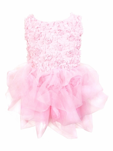 Mia Belle Baby Pink Tutu Dress