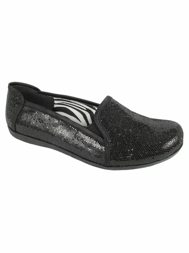 Mia Fashions Zoey Black Shoes