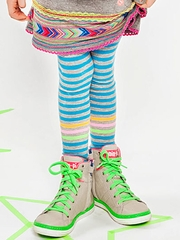 Mim-Pi �Swedish Fun� Stripe Tights