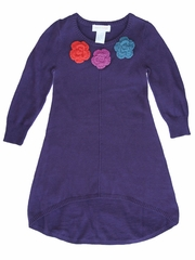 Mimi & Maggie Craft Market Collection Purple Sweater Dress