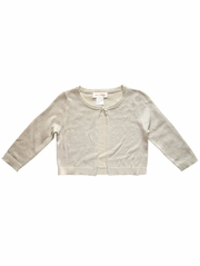 Mimi & Maggie Gold Sparkle Sweater