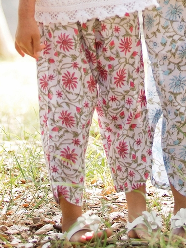 Mimi & Maggie Provence Collection Rose Tulip Pant