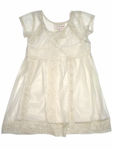 Mimi & Maggie Victorian Lace Netting Dress