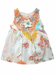 Mimi & Maggie Watering Can Multicolor Romper Dress