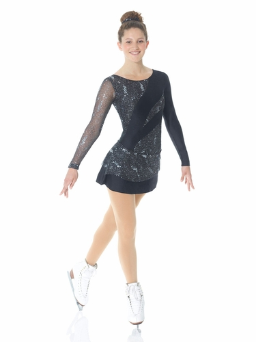 Mondor Black Sparkly Dress