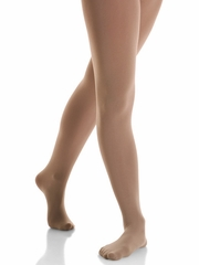 Mondor Brown Performance Footed Tights