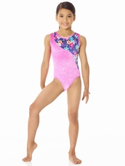 Mondor Flower Burst Top Wave Leotard